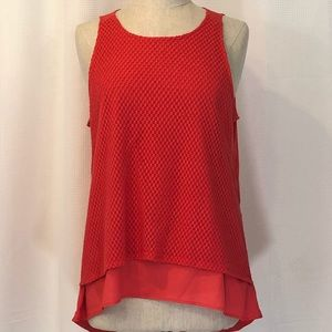 EUC THE LIMITED RED TANK SIZE XL